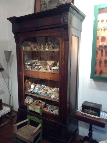 El armario donde guardaba todas sus objetos y muñecas.