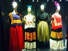 Vestidos de Frida.